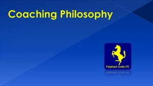 Felpham Colts Coaching Philosophy linking to a PDF