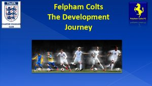 Felpham Colts Development Journey linking to a PDF